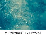 Detail Of Ice Crystal And...