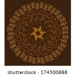 abstract pattern | Shutterstock .eps vector #174500888