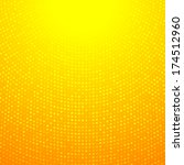 Abstract Circular Orange...