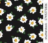 abstract floral seamless...   Shutterstock .eps vector #1745271836