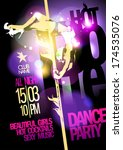 Pole Dance Party Design With...