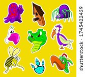 Cartoon Sticker Pack  Birds ...