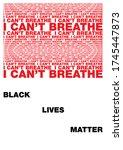 vector poster on a white... | Shutterstock .eps vector #1745447873