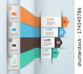 modern paper infographics in...