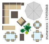 Garden Furniture Top View Psd outdoor furniture free vector art - (3468 free downloads)