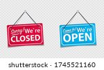information boards with the...   Shutterstock .eps vector #1745521160
