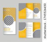 abstract blurb theme. black ... | Shutterstock .eps vector #1745526650