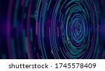 analytical spiral of... | Shutterstock . vector #1745578409