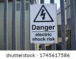 Black And White Sign   Danger...