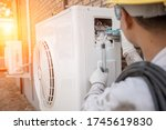 Air conditioning technician and ...