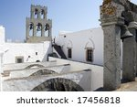 Gothic Arches And Bell Tower In ...