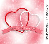 background for valentine's day... | Shutterstock . vector #174568679
