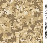 Camouflage military background. Abstract pattern. Vector illustration. - stock vector