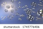 science background with... | Shutterstock . vector #1745776406