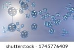 science background with... | Shutterstock . vector #1745776409