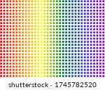 Lgbt Flag In The Form Of...
