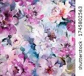 Beautiful Purple Peony Flowers...
