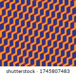 Hexagonal Seamless Vector...