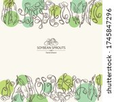 Background With Soybean Sprouts ...