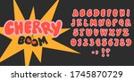 a 1970s 1960s styled retro... | Shutterstock .eps vector #1745870729