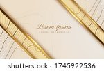 luxury gold background with...   Shutterstock .eps vector #1745922536