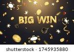 big win casino luxury vip...   Shutterstock .eps vector #1745935880