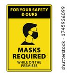 For Your Safety   Ours  Masks...