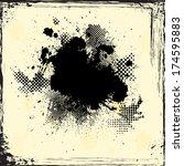 grunge background  | Shutterstock .eps vector #174595883