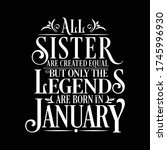 all sister are equal but... | Shutterstock .eps vector #1745996930