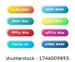 big set of buttons for design.... | Shutterstock .eps vector #1746009893