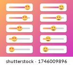 set of slider smile for social...   Shutterstock .eps vector #1746009896