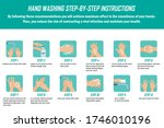 infographic background with... | Shutterstock .eps vector #1746010196