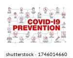 coronavirus covid19 prevention... | Shutterstock .eps vector #1746014660