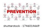 coronavirus covid19 prevention... | Shutterstock .eps vector #1746014669