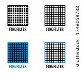 """""""fine filter"""" cleaning and... 