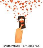 vector flat illustration of... | Shutterstock .eps vector #1746061766