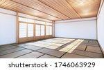 Japanese Room Tropical Interior ...