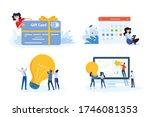 flat design style illustration... | Shutterstock .eps vector #1746081353