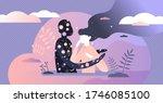 universe hug vector...   Shutterstock .eps vector #1746085100
