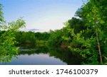 Oil Paintings Landscape  Lake...