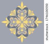cross doodle sketch color... | Shutterstock .eps vector #1746100550