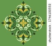 cross doodle sketch color... | Shutterstock .eps vector #1746100553