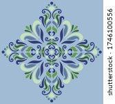cross doodle sketch color... | Shutterstock .eps vector #1746100556