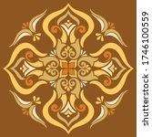 cross doodle sketch color... | Shutterstock .eps vector #1746100559