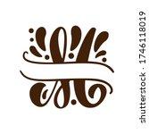 split letters m name vector...   Shutterstock .eps vector #1746118019