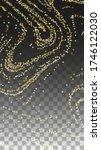 luxurious starry night design... | Shutterstock .eps vector #1746122030