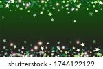 party background with confetti... | Shutterstock .eps vector #1746122129