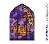 church window vector icon... | Shutterstock .eps vector #1746126143