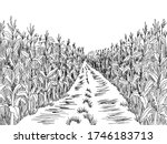 Cornfield Road Graphic Black...