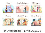designer concept set. graphic ... | Shutterstock .eps vector #1746201179